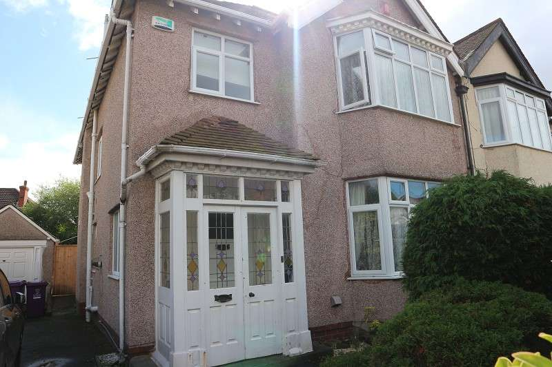 4 Bedrooms Semi Detached House for sale in Ballantrae Road, Liverpool, Merseyside. L18 6JQ