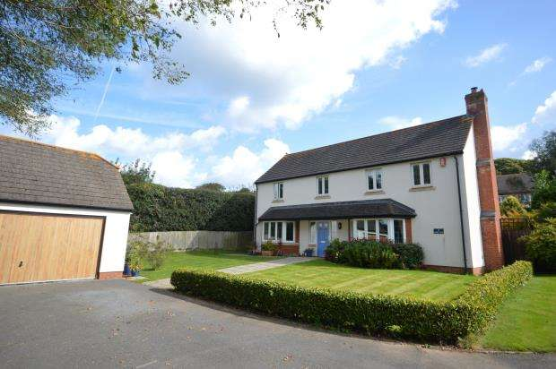 4 Bedrooms Detached House for sale in Abbey View, Sidmouth, Devon