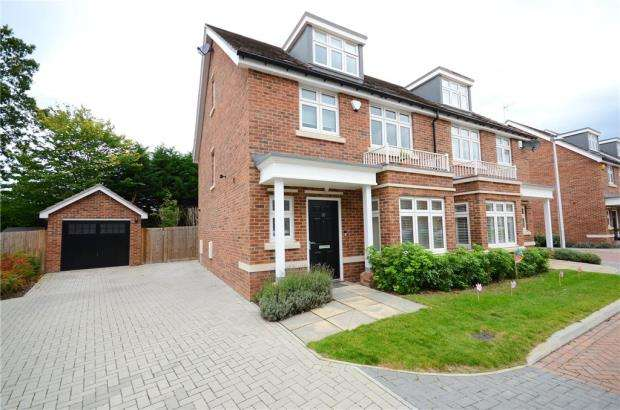 4 Bedrooms Semi Detached House for sale in Freshers Grove, Earley, Reading