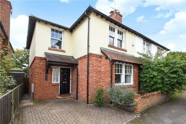 3 Bedrooms Semi Detached House for sale in Coworth Road, Sunningdale, Berkshire