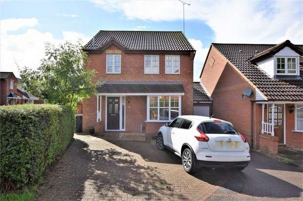 3 Bedrooms Detached House for sale in Gallery Close, NORTHAMPTON