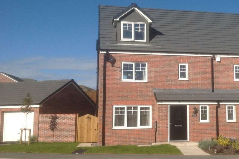 4 Bedrooms Semi Detached House for sale in Pear Tree Gardens, Walton-Le-Dale, Preston, PR5