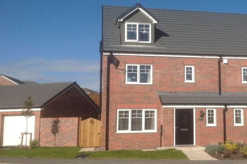 4 Bedrooms Semi Detached House for sale in Pear Tree Gardens, Walton-Le-Dale, Preston, PR5