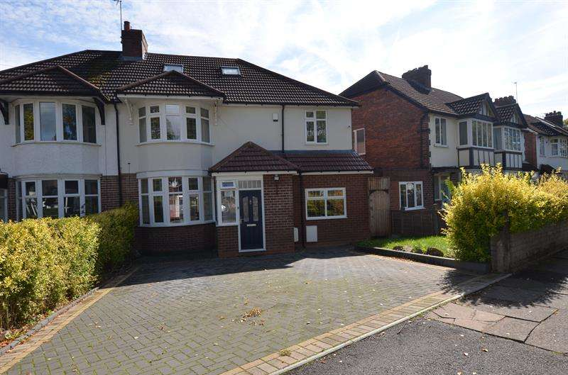 5 Bedrooms Semi Detached House for sale in Brandwood Road, Kings Heath, Birmingham