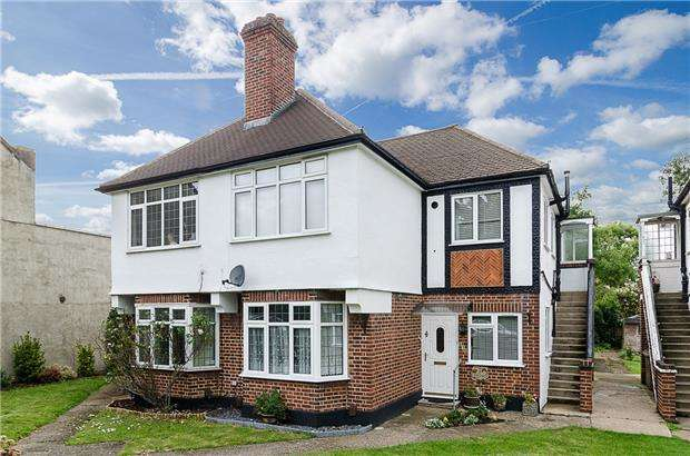 2 Bedrooms Maisonette Flat for sale in London Road, SUTTON, Surrey, SM3 9DF