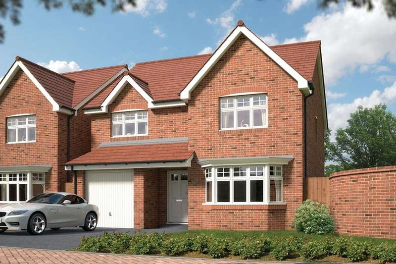4 Bedrooms Detached House for sale in Durham Chester Road, Malpas, SY14