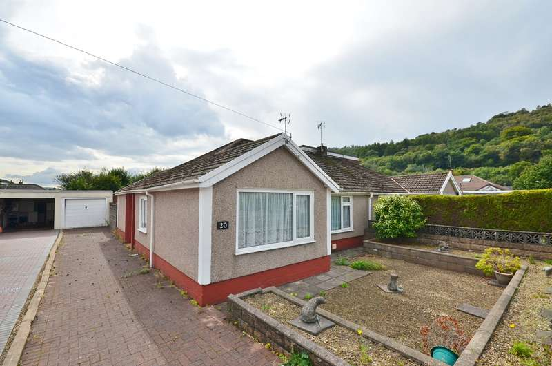3 Bedrooms Semi Detached Bungalow for sale in Pantglas, Llanbradach, Caerphilly, CF83