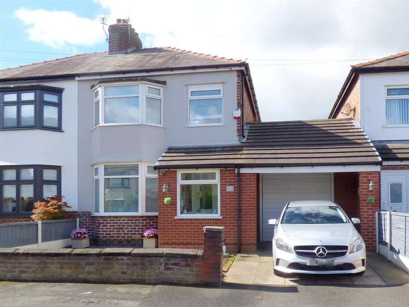 3 Bedrooms Semi Detached House for sale in Rydal Avenue, Prescot, Liverpool