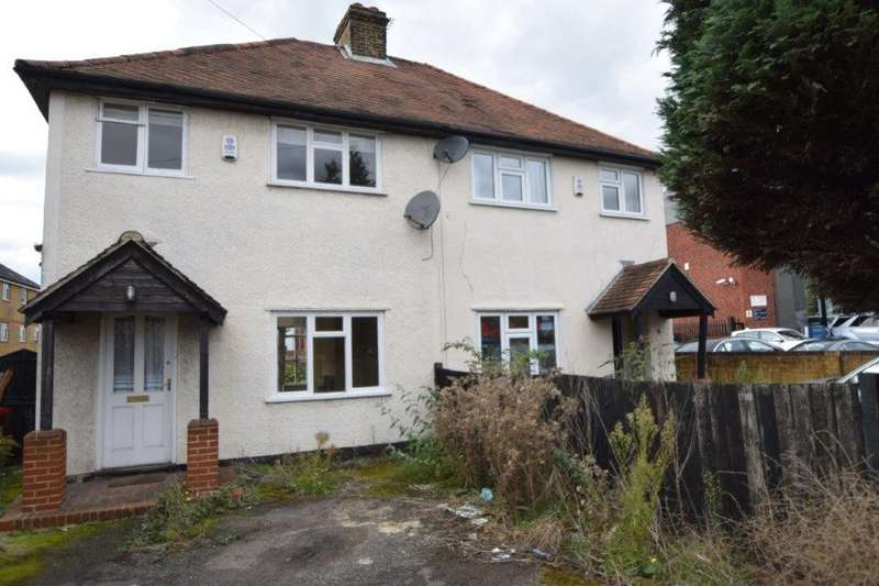 3 Bedrooms Semi Detached House for sale in Cippenham Lane, Cippenham, SL1