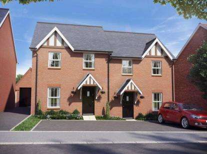 2 Bedrooms Detached House for sale in Buckton Fields, Northampton