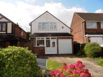 3 Bedrooms Detached House for sale in Maxholm Road, Sutton Coldfield, West Midlands