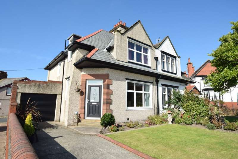 4 Bedrooms Semi Detached House for sale in Empress Drive, Walney, Cumbria, LA14 3DZ