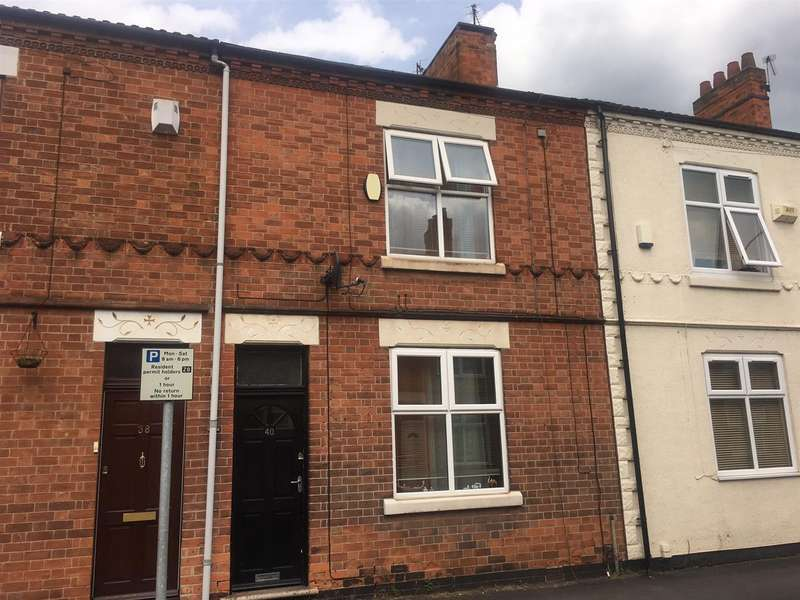 2 Bedrooms Terraced House for sale in Ratcliffe Road, Loughborough
