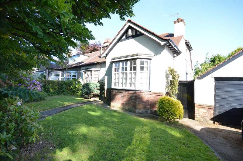4 Bedrooms Semi Detached Bungalow for sale in Montclair Drive, Mossley Hill, Liverpool, L18