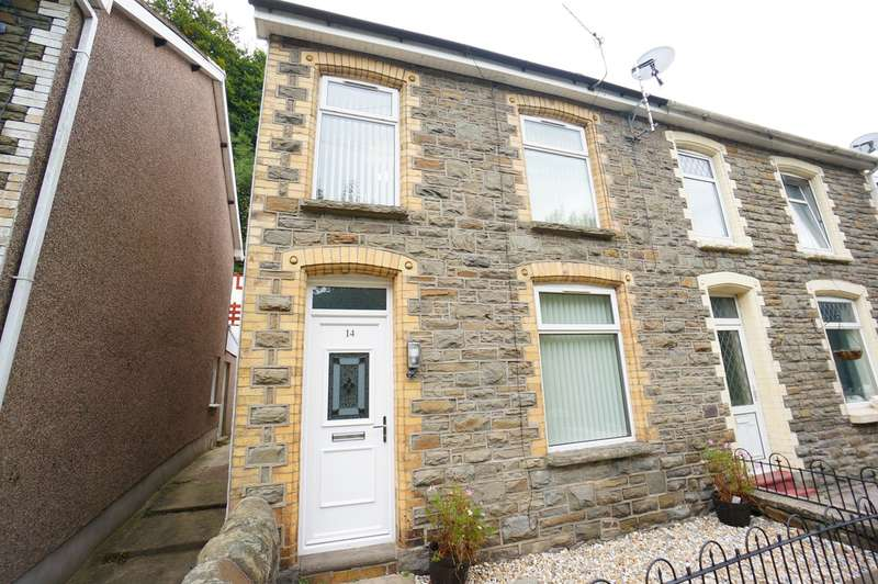 3 Bedrooms Semi Detached House for sale in Newport Road, Cwmcarn, Newport, NP11