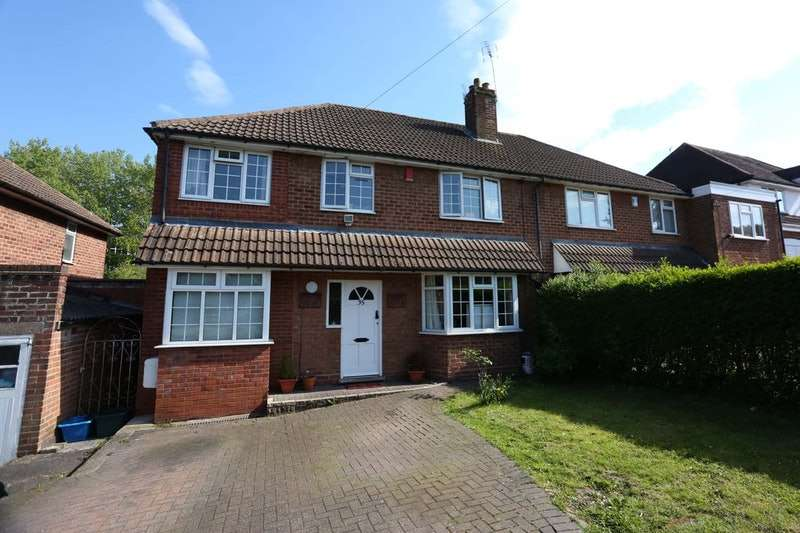 5 Bedrooms Semi Detached House for sale in Chamberlain Road, Birmingham, West Midlands, B13