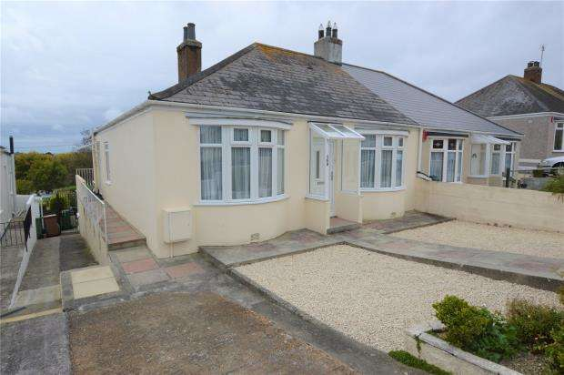 2 Bedrooms Semi Detached Bungalow for sale in Pemros Road, Plymouth, Devon