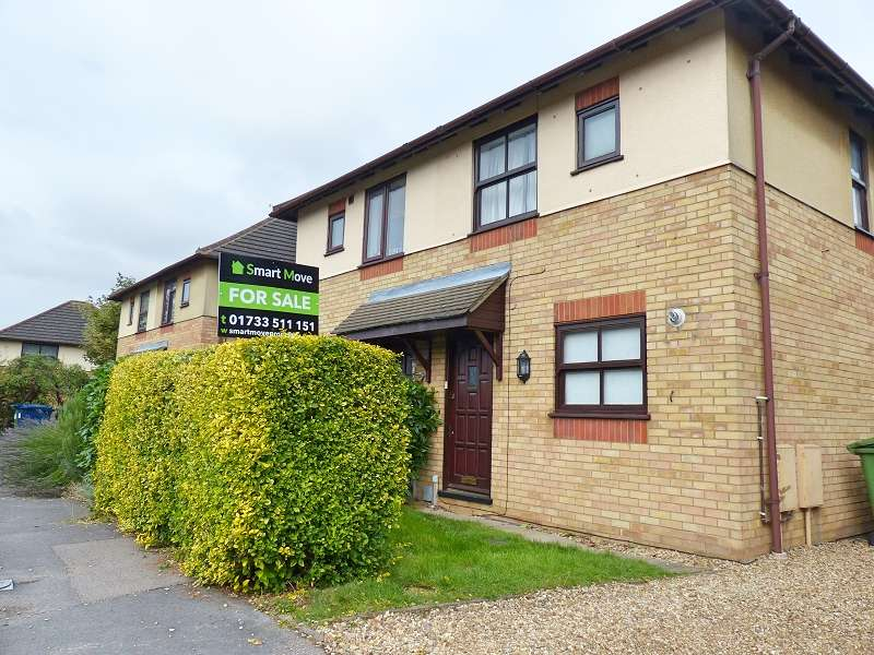 2 Bedrooms Semi Detached House for sale in Freesia Way, Yaxley, Peterborough, PE7 3WA