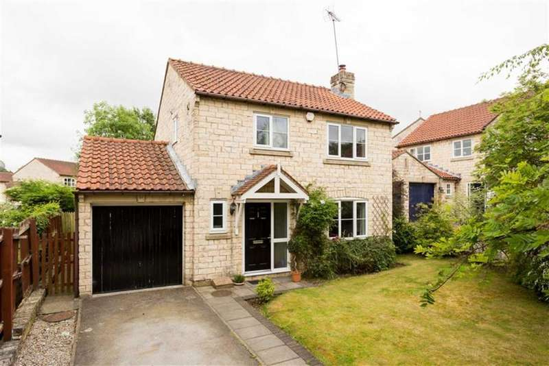 3 Bedrooms Detached House for sale in Milnthorpe Close, Bramham, LS23
