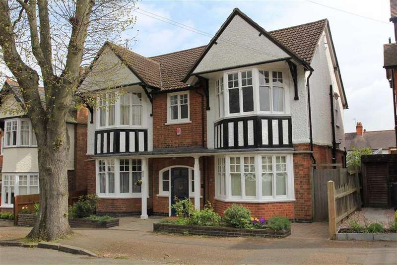 5 Bedrooms Detached House for sale in Guilford Road, Stoneygate, Leicester