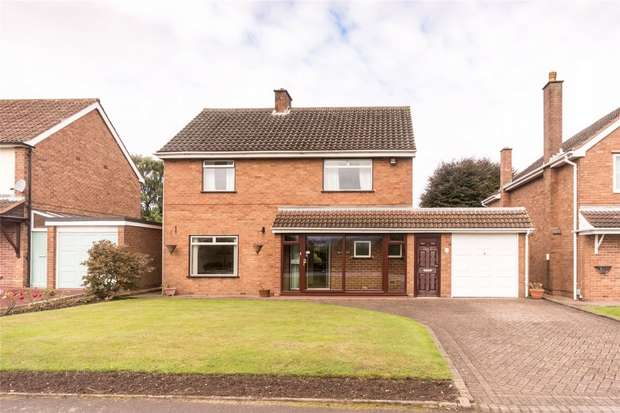 3 Bedrooms Detached House for sale in Cricket Lane, Lichfield, Staffordshire
