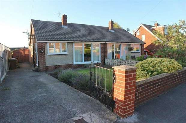 3 Bedrooms Semi Detached Bungalow for sale in Charles Street, Ryhill, Wakefield, West Yorkshire