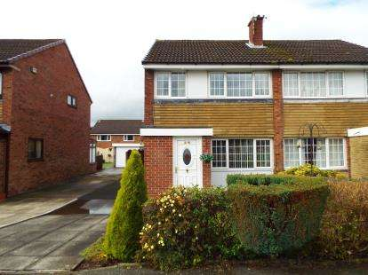 3 Bedrooms Semi Detached House for sale in Countess Way, Euxton, Chorley, Lancashire