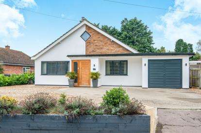 3 Bedrooms Bungalow for sale in Great Hockham, Thetford, Norfolk