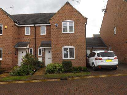 3 Bedrooms Semi Detached House for sale in Plover Road, Leighton Buzzard, Bedfordshire
