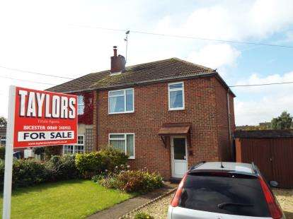 3 Bedrooms Semi Detached House for sale in George Street, Bicester, Oxfordshire