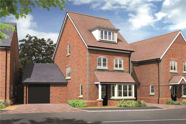 3 Bedrooms Semi Detached House for sale in The Brambles, Basingstoke Road, Spencers Wood