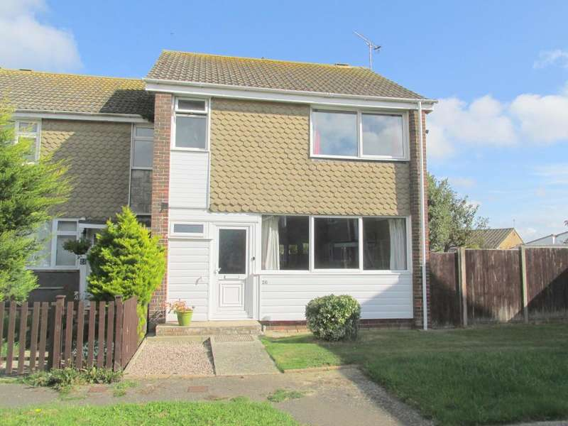 3 Bedrooms End Of Terrace House for sale in Mulberry Court, Pagham, Bognor Regis, West Sussex, PO21 4TP