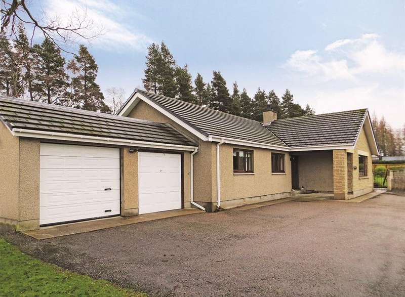 3 Bedrooms Detached Bungalow for sale in Dunphail, Forres, Morayshire