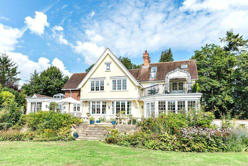 6 Bedrooms Detached House for sale in Pangbourne Hill, Pangbourne, Reading, Berkshire