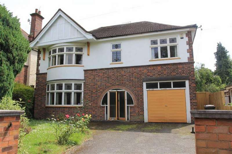 4 Bedrooms Detached House for sale in Victoria Park Rd, Clarendon Park, Leicester