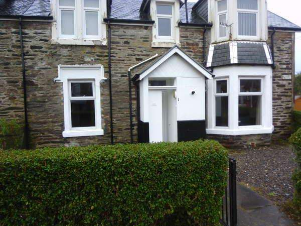 1 Bedroom Flat for sale in 1 Minard Place Royal Crescent, Dunoon, PA23 7AH