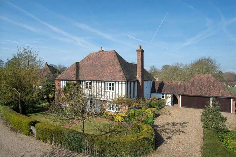 5 Bedrooms Detached House for sale in Wootton Drive, Petham, Canterbury, Kent