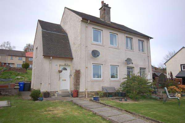 2 Bedrooms Semi-detached Villa House for sale in 35 Semple Avenue, Lochwinnoch, PA12 4BG