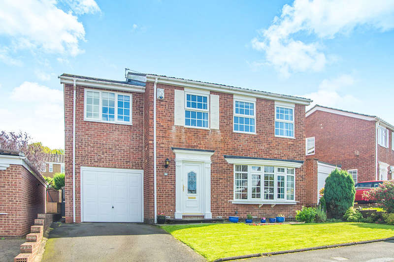 4 Bedrooms Detached House for sale in Grosvenor Court, Chapel Park, Newcastle Upon Tyne, NE5