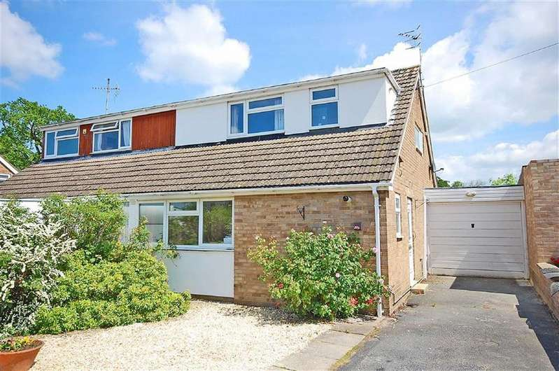 4 Bedrooms Semi Detached House for sale in Willow Road, Charlton Kings, Cheltenham, GL53