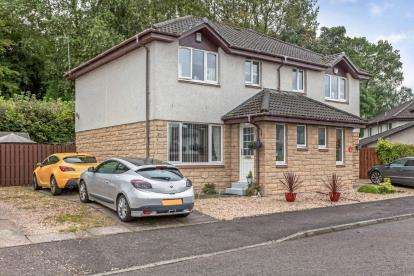 3 Bedrooms Semi Detached House for sale in Glenfield Grove, Paisley
