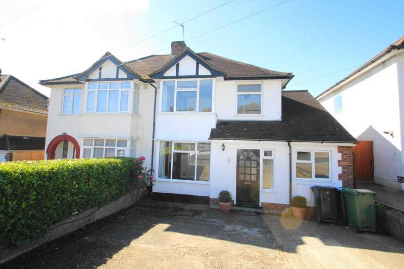 3 Bedrooms Semi Detached House for sale in EXTENDED 3/4 BEDROOM SEMI DEATCHED FAMILY HOME WITH OFF ROAD PARKING