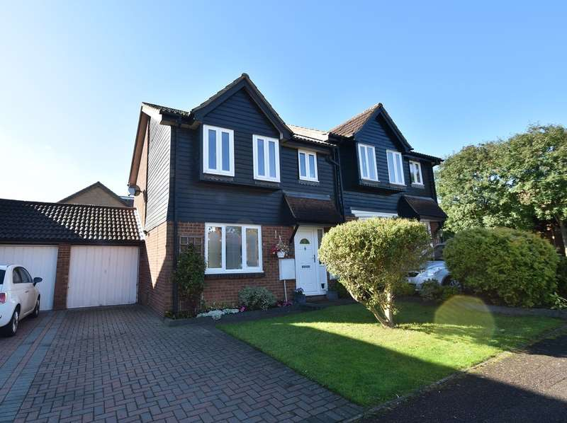 3 Bedrooms Semi Detached House for sale in Irving Close, Bishop's Stortford