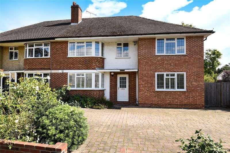 4 Bedrooms Semi Detached House for sale in Priory Way, Chalfont St. Peter, Gerrards Cross, Buckinghamshire, SL9