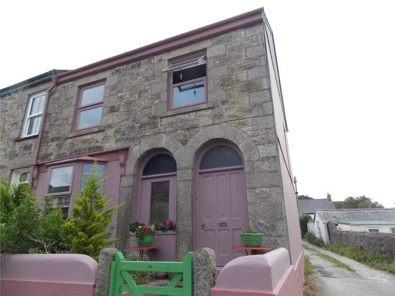 3 Bedrooms End Of Terrace House for sale in Rose Row, Redruth