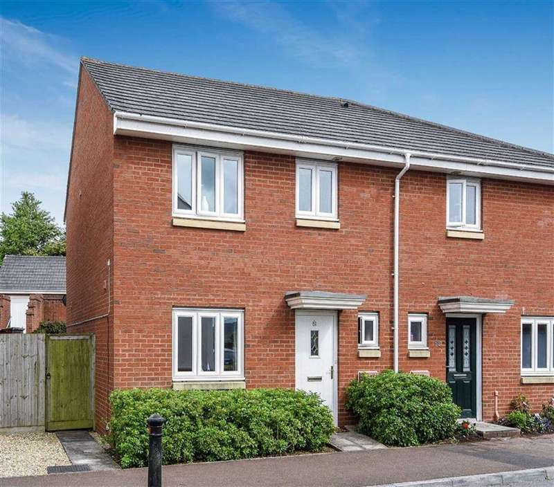 3 Bedrooms Semi Detached House for sale in Oakfields, Tiverton, Devon, EX16
