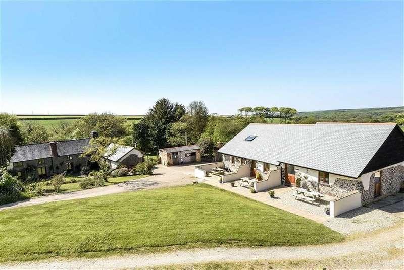 5 Bedrooms Detached House for sale in Natcott Lane, Hartland, Bideford, Devon, EX39