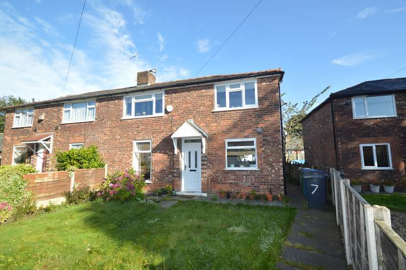 3 Bedrooms Semi Detached House for sale in Bannerman Avenue, Prestwich, Manchester, M25