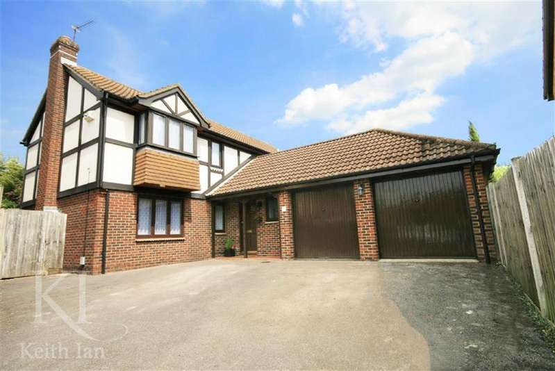 4 Bedrooms Detached House for sale in Yew Close, West Cheshunt