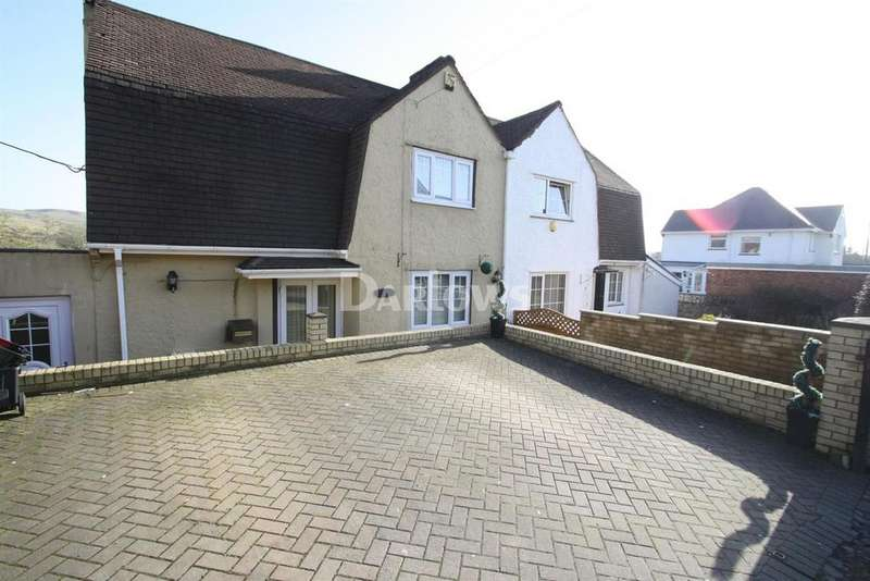 3 Bedrooms Semi Detached House for sale in Bryngwyn Road, Beaufort, Ebbw Vale, Gwent